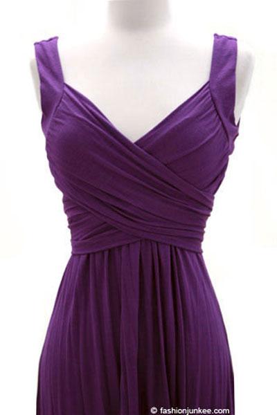 Purple Jersey Dresses