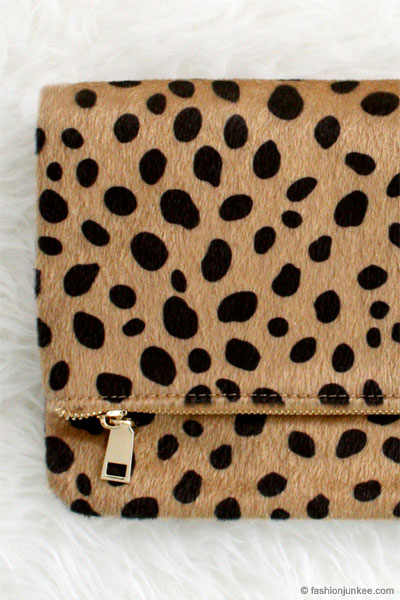 Cheetah print leopard animal print faux fur clutch leopard print quick view thecheapjerseys Choice Image