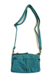 Small Crossbody Messenger Clutch Purse-Blue