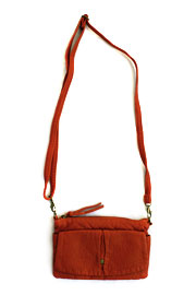 Small Crossbody Messenger Clutch Purse-Orange