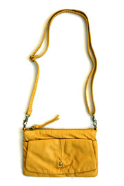 Small Crossbody Messenger Clutch Purse-Yellow