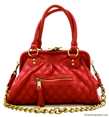 Inspired by Marc Jacob: Oversized, Large STAM Quilted Chain Handbag