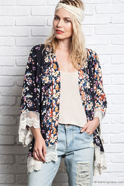 As Seen In US WEEKLY: PLUS SIZE Bohemian Vintage Inspired Floral ...