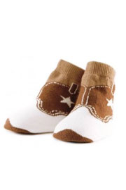 Trumpette Cowboy Boots Socks-6 Pairs (0-12 Months)