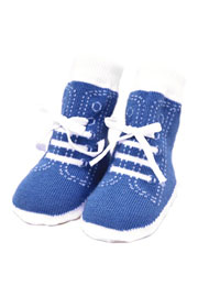 Trumpette Johnny Sneaker Socks-6 Pairs in Bright Colors (0-12 Months)