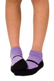 Trumpette MaryJanes Kid's Ankle Socks-3 Pairs in Bright Colors (3-8 Years)