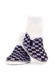 Trumpette Skater Shoes Socks-6 Pairs (0-12 Months)