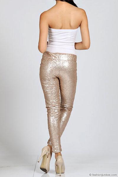 Sequins Size Plus Size Metallic Sequin