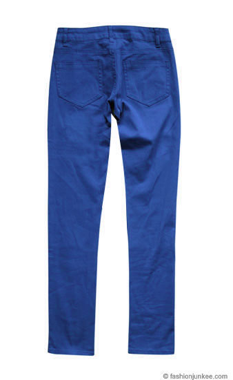 Plus Size Moleton Stretch Sexy Colored Skinny Denim Jeans Jeggings ...