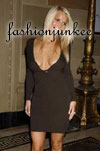 JESSICA SIMPSON -  V-Cut Backless Dress