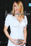 MADONNA-Low Cut V-Neck Short Sleeve Dress