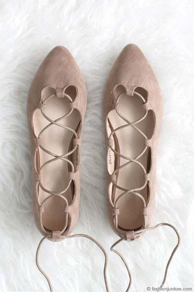 Find lace up ballet flats at ShopStyle. Shop the latest collection of lace up ballet flats from the most popular stores - all in one place.