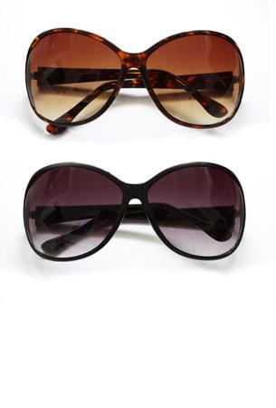Classic Oversized Plastic Sunglasses
