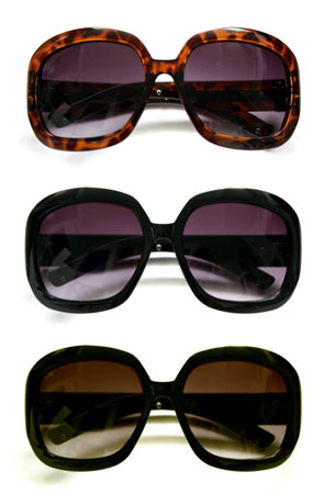 Classic Oversized Sunglasses with