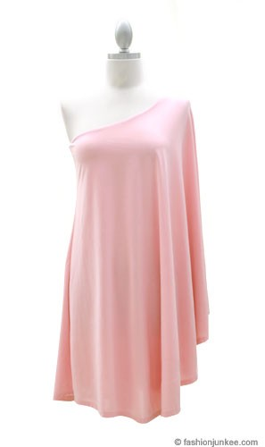 Plus size cocktail dress pink