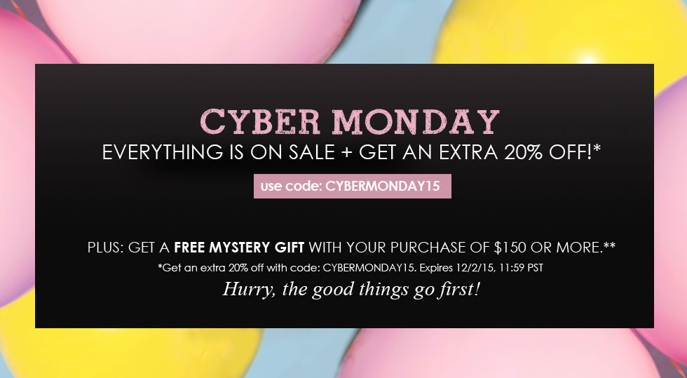 FashionJunkee.com Cyber Monday Sale!