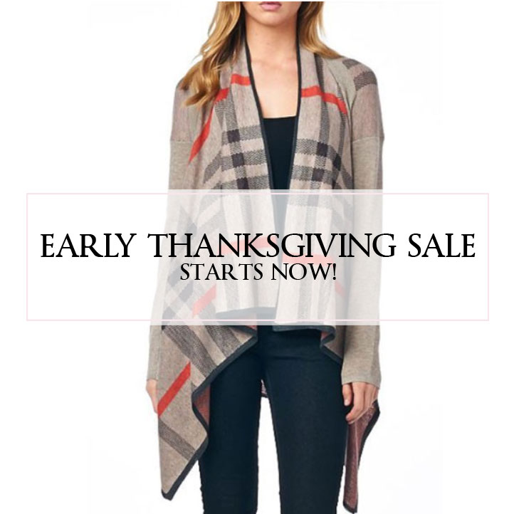 Surprise! Early Thanksgiving Sale!