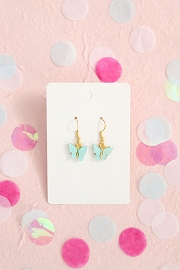 Granola + Barley Butterfly Earrings-Blue