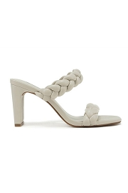 Braided Woven Heels-Off White